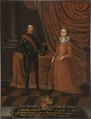 Casimir IV (1427-1492), King of Poland, and his consort Elizabeth (1437-1505) - Nationalmuseum - 15277.tif