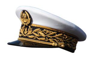 Peaked cap - Peaked cap of a French general officer of the custom services