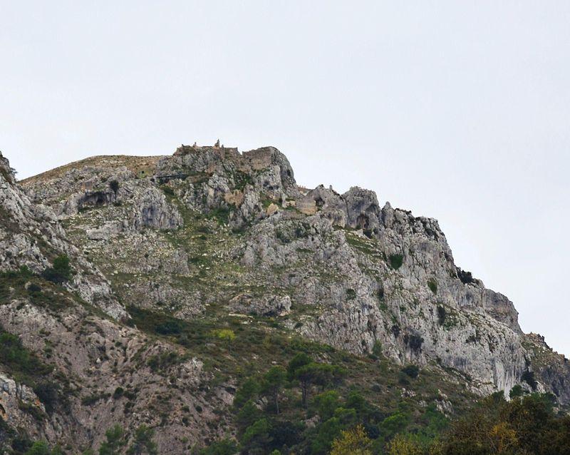 Castell d'Alcalà o de Benissili (la Vall de Gallinera).JPG