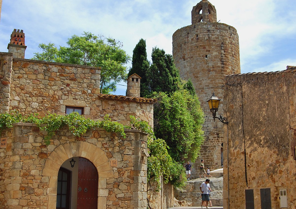 Castillo de Pals - Wikipedia, la enciclopedia libre
