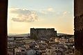 Castello federiciano dal Campanile, Melfi (Italia).jpg