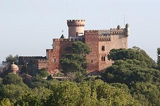 Castelldefels Castle - Image: Castillo Castelldefels