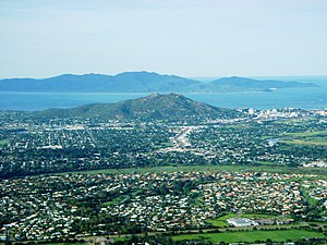 North Queensland - Suburbs of Townsville around Castle Hill
