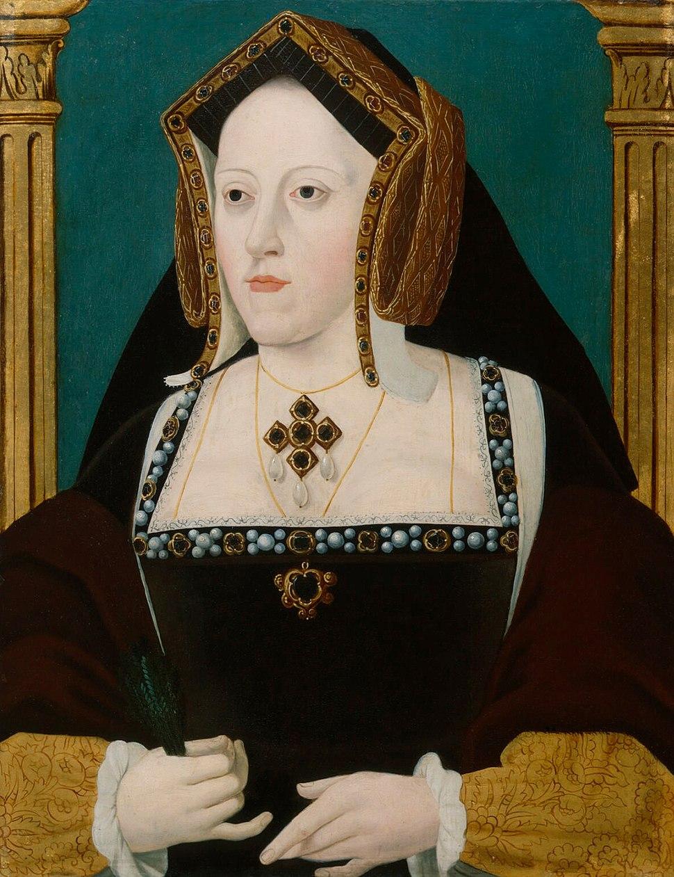 Catalina de Aragón, por un artista anónimo