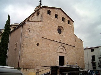 Santa Coloma de Farners - Parish church