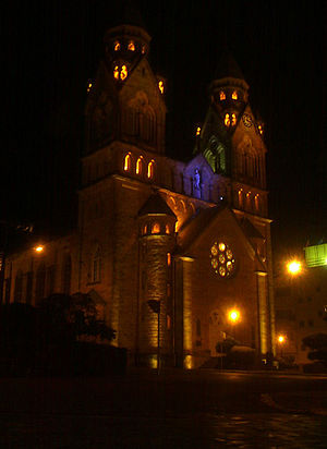 Lages - Image: Catedral Diocesana Lages SC
