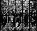 Cathédrale Notre-Dame - Vitrail, bras nord du transept, évêques, après restauration - Evreux - Médiathèque de l'architecture et du patrimoine - APMH00015138.jpg