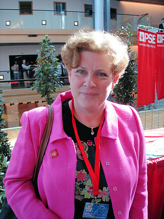 2001 French municipal elections - Catherine Trautmann, defeated in Strasbourg by the UDF