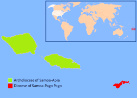 Image illustrative de l'article Archidiocèse de Samoa-Apia