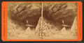 Cave in Smuggler's Notch, Stowe, Vt, by L. O. Churchill.png