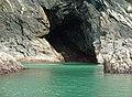 Cave near Pwll y Wrach, Moylgrove - geograph.org.uk - 943009.jpg