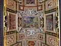Ceiling photo-25 B PETRUS DAMIANVS CARD RECVLAM EREMITICAM CONSCRIBIT.JPG