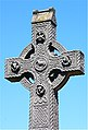 Celtic Cross St Nicholas's Church Graveyard - panoramio.jpg