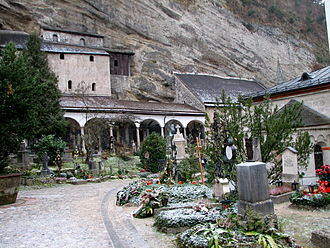 Petersfriedhof Salzburg - St. Peter's Cemetery with catacombs
