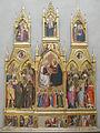 Cenni di francesco, incoronazione della vergine con sannti, anni 1390.JPG