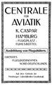 Centrale für Aviatik, Hamburg, Anzeige ca. 1913.png