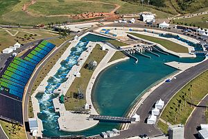 Venues of the 2016 Summer Olympics and Paralympics - Deodoro Olympic Whitewater Stadium at Deodoro Radical Park
