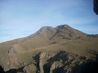 Sierra de la Ventana (mountains) - Image: Cerro Tres Picos