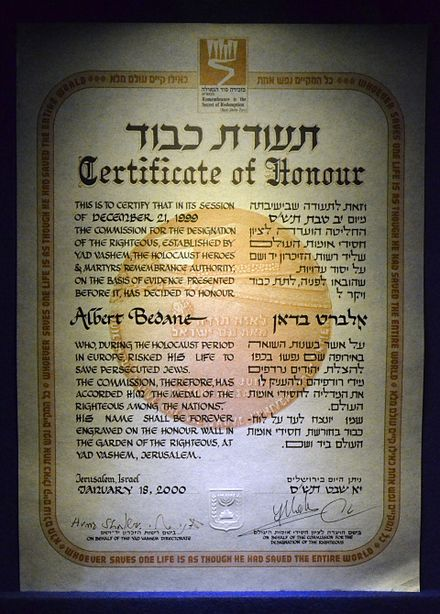 the designated righteous among nations andre She was recognised by yad vashem as righteous among the nations in designated in poland 'the year of irena goethe-institut, united kingdom.