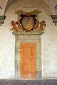 Certosa di firenze, chiesa di san lorenzo, ext., portali dipinti 01.JPG
