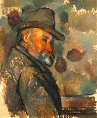 Self-portrait in a Soft Hat