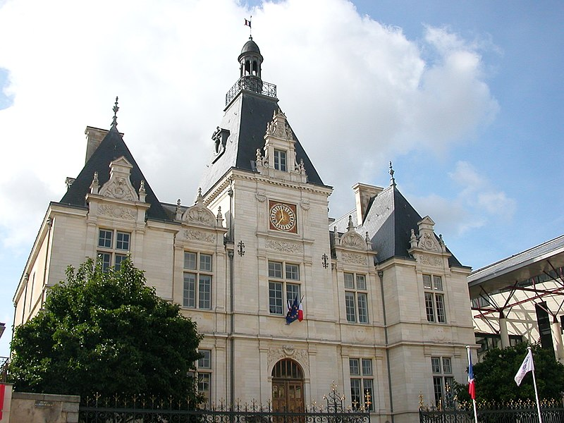 Town hall of Château-Gontier