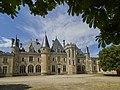 Château de Montaigne - newer wing - view from courtyard (26860051951).jpg