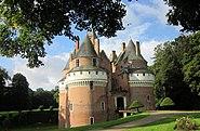 Château de Rambures - vue de devant