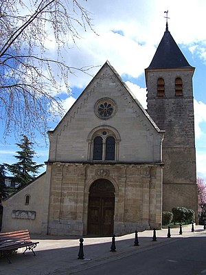 Chambourcy - St Clothilde church