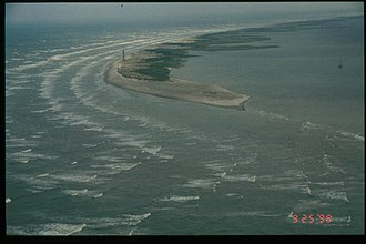 Effects of Hurricane Georges in Louisiana - Image: Chandeleur Islands Pre Georges