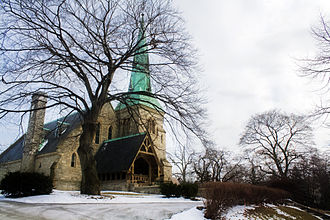 St. James Cemetery (Toronto) - Chapel of St. James-the-Less in St. James cemetery