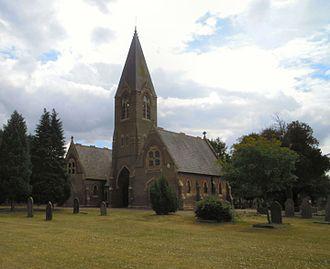 Biggleswade Cemetery - The Chapel at Biggleswade Cemetery