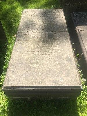 Charles Francis Norton - Charles Francis Norton, Old Burying Ground (Halifax, Nova Scotia)