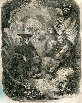 René (novella) - René tells his story to Chactas and Father Souel