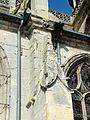 Chaumont-en-Vexin (60), église Saint-Jean-Baptiste, bas-côté sud, clocheton du 2e contrefort.JPG
