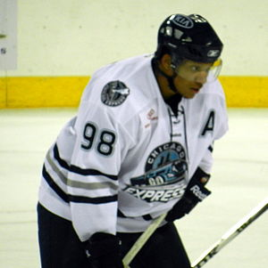 Chicago Express - Chaz Johnson finished as Chicago's all-time leader in goals scored with 20.