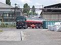 Chemi Cargo Mercedes-Benz tank truck and weigh bridge, 2018 Ferencváros.jpg