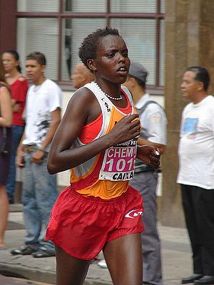 Tegla Loroupe Peace Race - The 2009 women's winner Chemutai Rionotukei