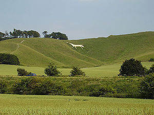 Wiltshire - Cherhill White Horse, east of Calne