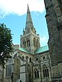 Chichester Cathdral from town.JPG