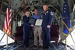 Chief Master Sgt. Cosher retires (43538550791).jpg
