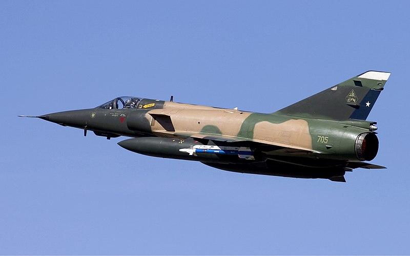 File:Chile Air Force Dassault (SABCA) Mirage 5MA Elkan Lofting-2.jpg
