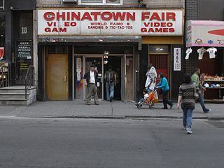 Chinatown Fair building in Chinatown, New York, United States