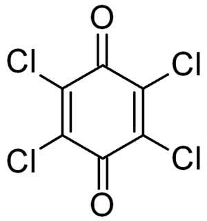 Chloranil - Image: Chloranil structure