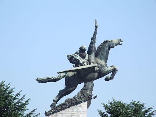 Chollima statue 05