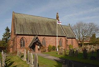 Christ Church, Willaston Church in Cheshire, England