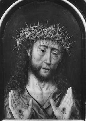 Man of Sorrows (diptych)