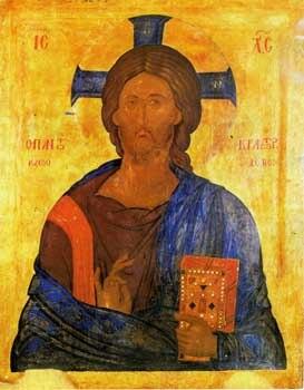 Christ Pantocrator (Markov Manastir, 15 c)