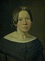 Christen Købke - Portrait of the Artist´s Sister-in-Law Johanne Elisabeth Købke, née Sundbye - KMS3158 - Statens Museum for Kunst.jpg