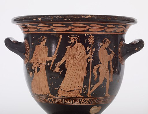Christie Painter - Red-Figure Bell Krater - Walters 4874 - Detail A
